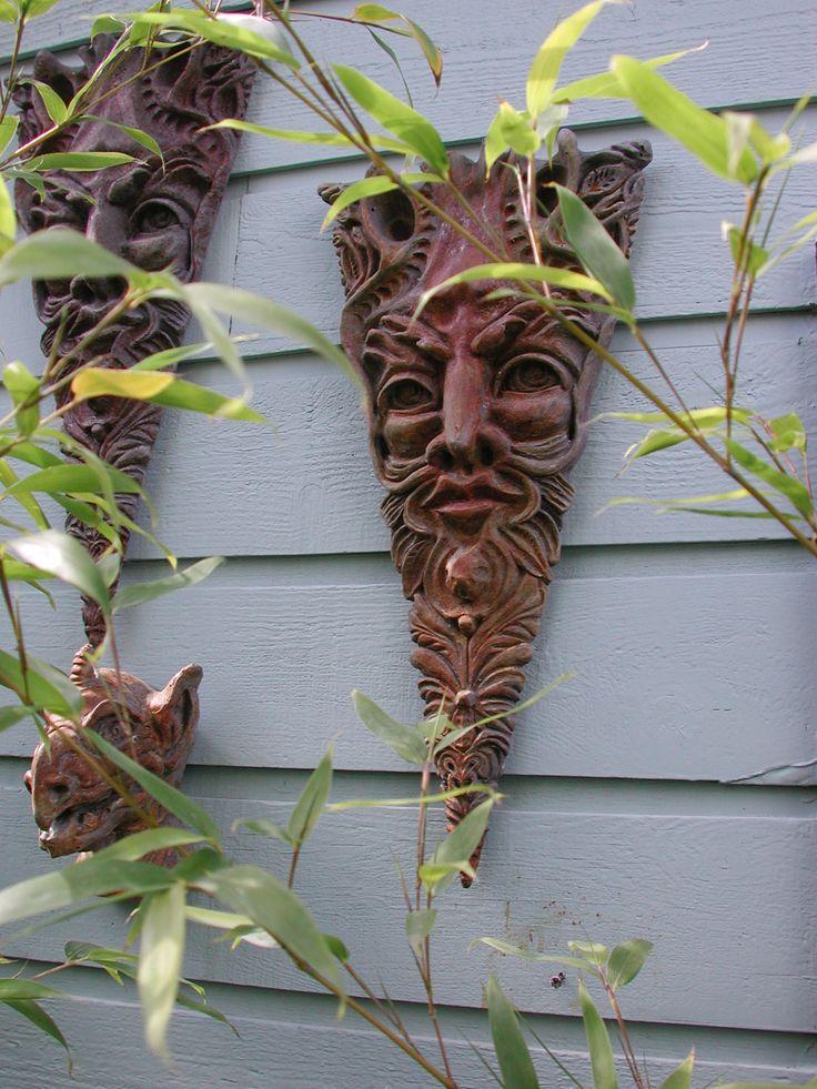 Richard Armstrong - Portland, Oregon: Pottery Ideas, Garden Art, Ceramic Ideas, Clay Sculpture, Green Man, Green One, Art Ceramics