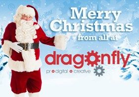 Seasons greetings from all at Dragonfly PR!