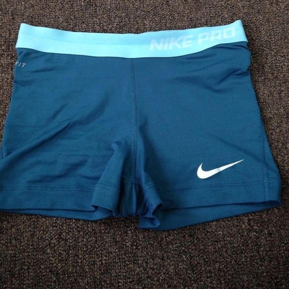 Nike Pro shorts Worn twice but to small for me. Great condition Nike Shorts