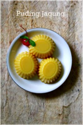 HESTI'S   KITCHEN : yummy for your tummy: Puding Jagung