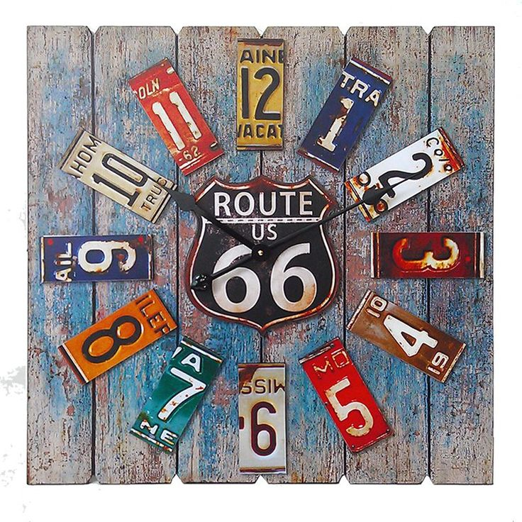Bring back the memories of road trips with this charming Route 66 and state…