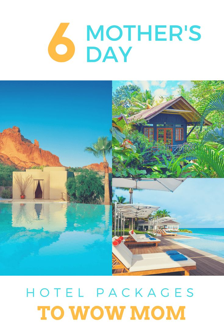 Mothers day hotel packages to wow mom