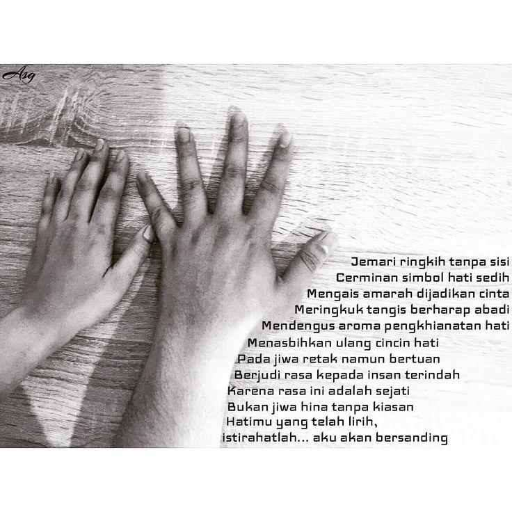 Jakarta, Puisi Monokrom l Janji yang Tak Teringkari -ASG-