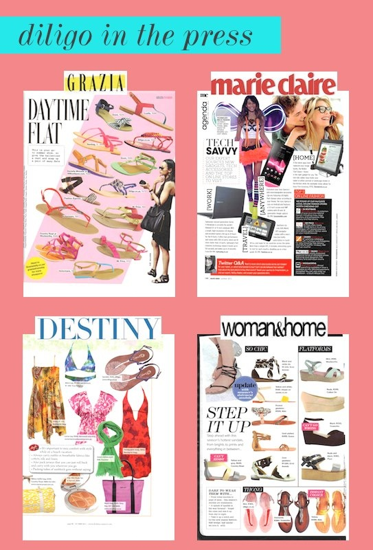 Ooohh.. check us out being ever so popular in the latest issues of Marie Claire SA, DestinyConnect, Grazia SA & Woman & Home SA magazines!