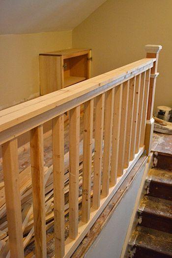 Diy Stair Railing Diy Stair Railing Diy Stairs Rustic