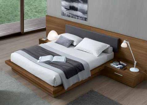 Jesse Ala Super King Size Bed In Wood