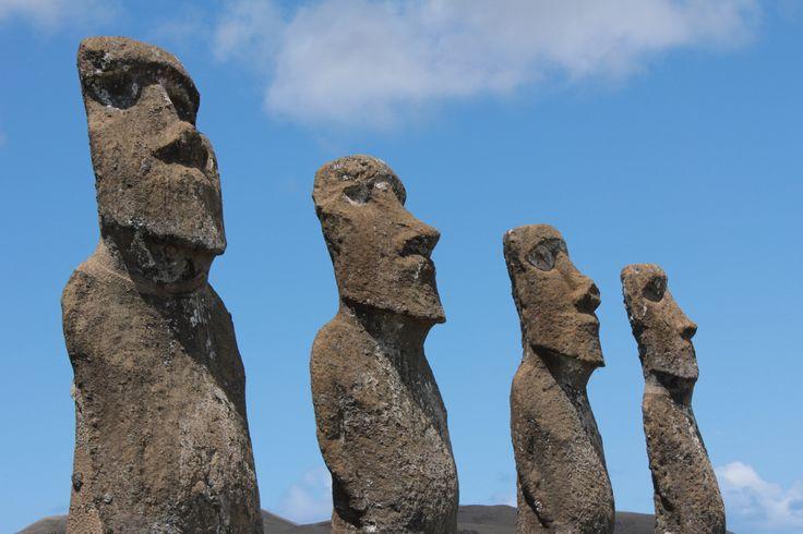 The Giants of Easter Island