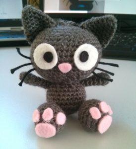 CROCHET - CAT / CHAT / POESJE - Tutoriel gratuit du chat en crochet chez Chapitaine crochet !