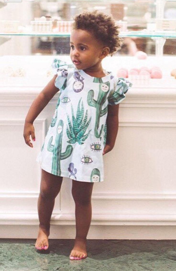 Cactus Print Dress | Supayana on Etsy