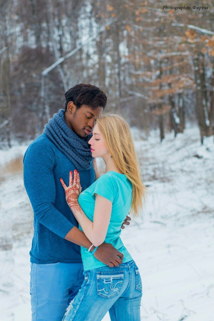black man in love with white woman