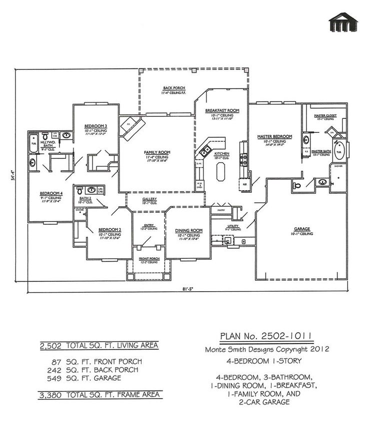 Barndominium floor plans with four bedrooms joy studio for House plans for family of 4