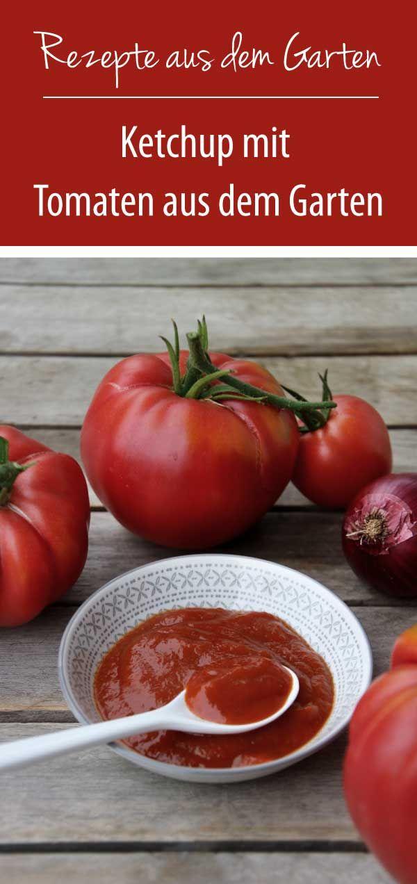 Tomaten in der Flasche – Ketchup selber machen