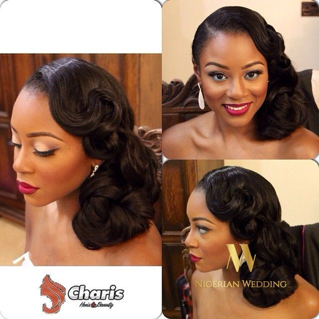 Nigerian Wedding Presents 30+ Gorgeous Bridal Hairstyles By Charis Hair…..Be Inspired!