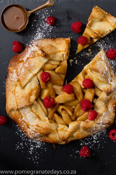 This recipe for a rustic apple tart is so simple and easy. The pastry crust is homemade from scratch but only takes only a few minutes. Finished with a glossy caramel sauce, this is one of my favourite fall and winter dessert ideas.