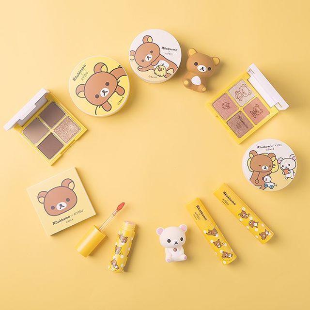 A'PIEU #korean #makeup #koreanmakeup #products #rilakuma
