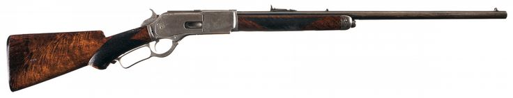 Deluxe Special Order Winchester Model 1876 Lever Action 50 Express Rifle with Factory Letter