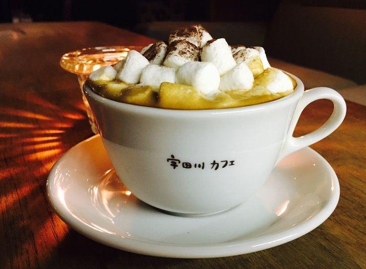冬の定番!不動の人気を誇った宇田川カフェ『マシュマロモカ』が冬季限定で提供中!