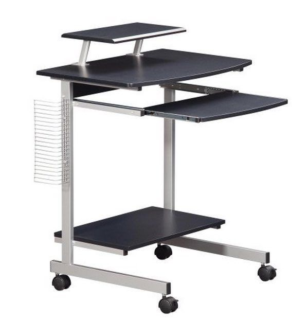 attractive portable stand up desk ideas with ac paddle black wooden computer station standing workstation images best 25 computer cart ideas on 543