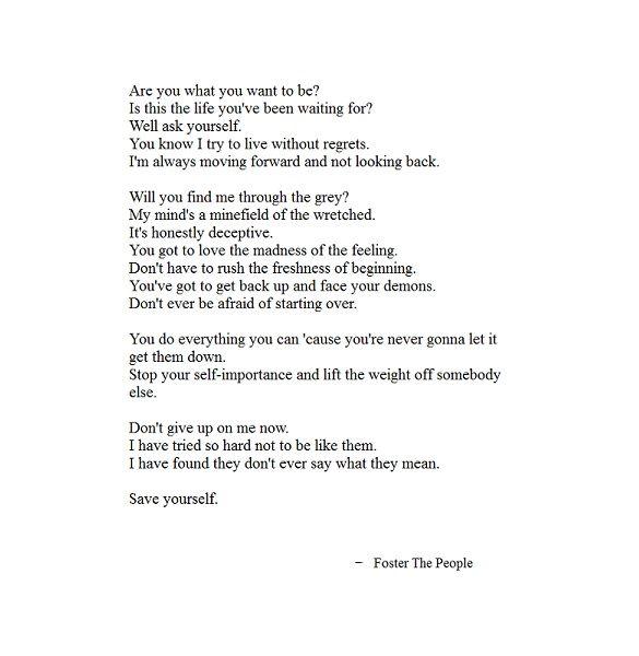 Combined lyrics...