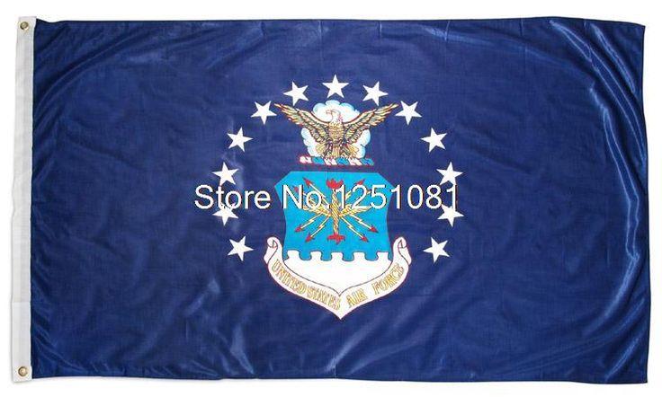 Флаг Ввс Сша 3ft x 5ft Полиэстер Ввс Сша Флаг Размер № 4 144*96 см QingQing флаг