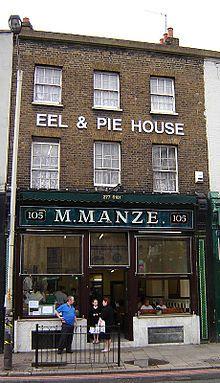 M. Manze, Eel & Pie House