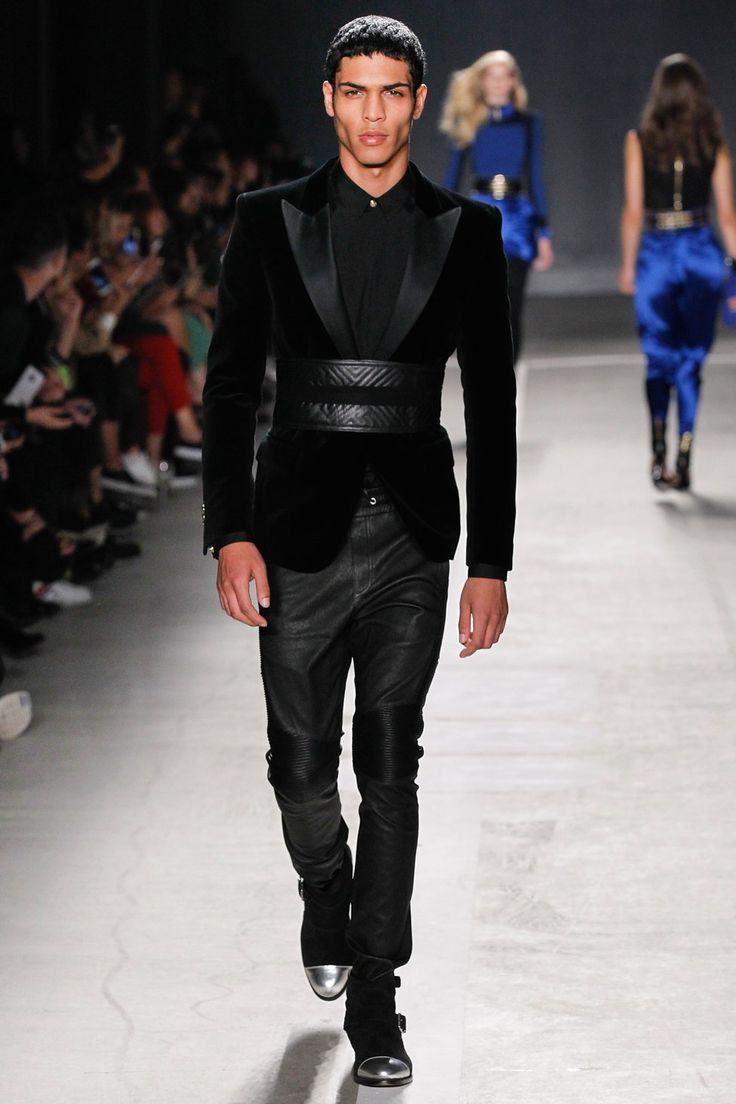 Balmain x H&M Collaboration Collection Runway