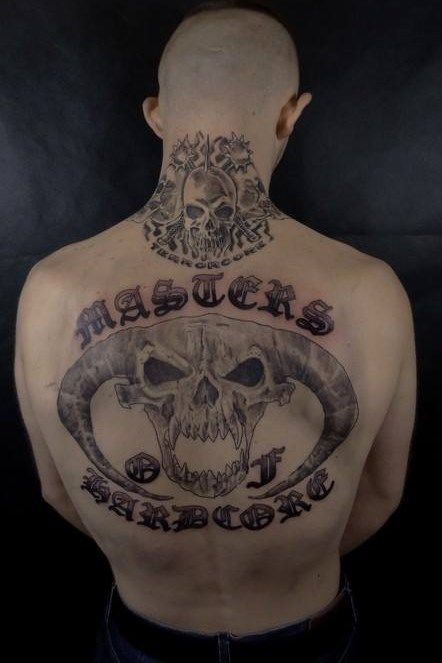 Masters Of Hardcore Tattoo