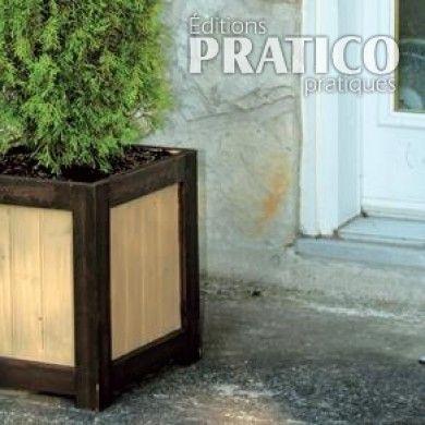 11 best bac fleur images on pinterest log planter. Black Bedroom Furniture Sets. Home Design Ideas