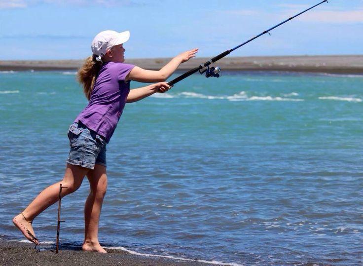 Fishing Lake Ferry lagoon by Lisa