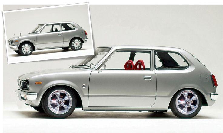 Honda Civic 1972 custom. My First...