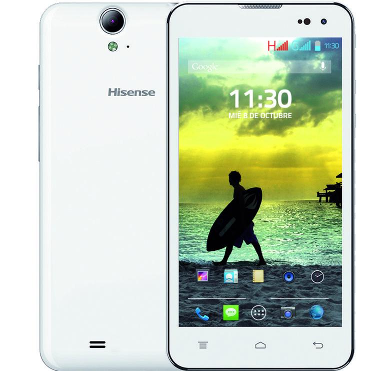 hisense hs u971 w smartphone android con procesador qualcomm quad core 1 2ghz con 1gb ram. Black Bedroom Furniture Sets. Home Design Ideas