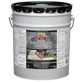 H�5-Gallon Clear Gloss Solvent-Based Concrete Sealer