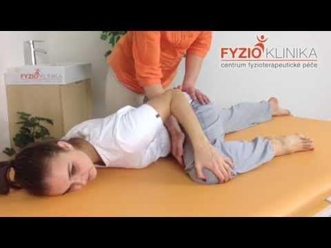 Cvičení Ludmily Mojžíšové při bolesti beder, třísel a funkční neplodnosti - YouTube