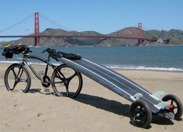 Life Is Tough   Overcoming The Problem Of Getting Your Surfboard To The  Beach With Your. Surfboard RackBike ...