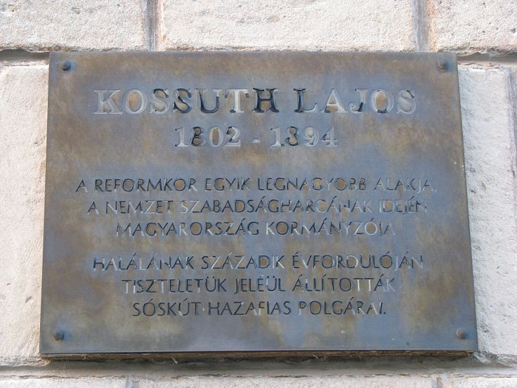 Kossuth Lajos emléktábla (Sóskút) http://www.turabazis.hu/latnivalok_ismerteto_5145 #latnivalo #soskut #turabazis #hungary #magyarorszag #travel #tura #turista #kirandulas