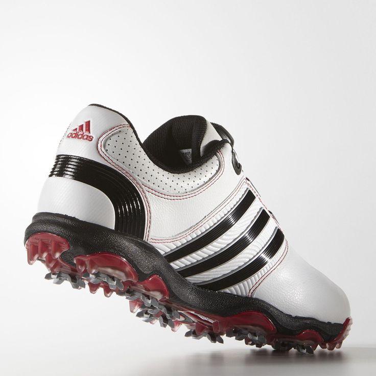 adidas tour360 boa impulso wd uomini bianco - rosso umbrail golf importazione < 3