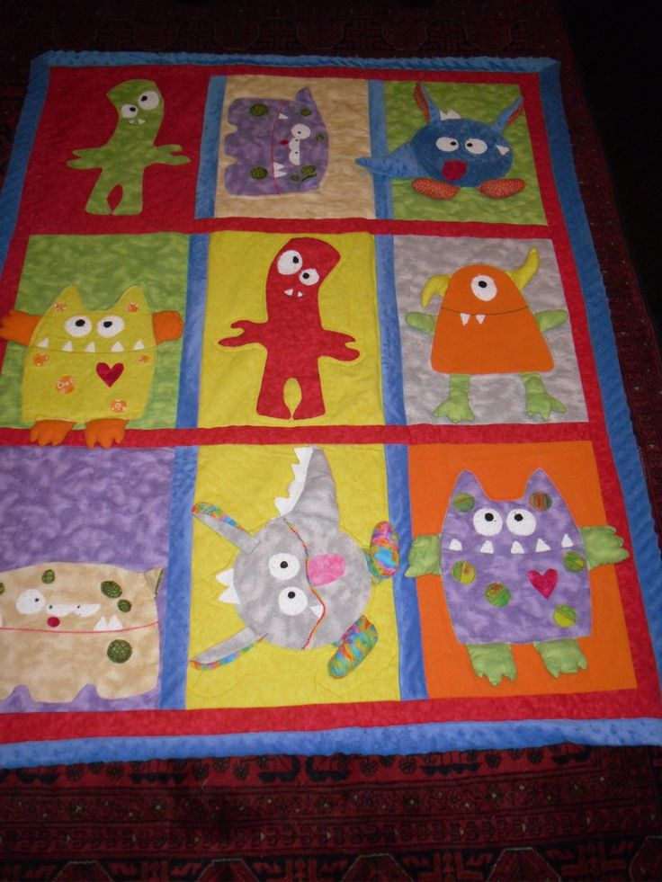 another cute boy's quilt