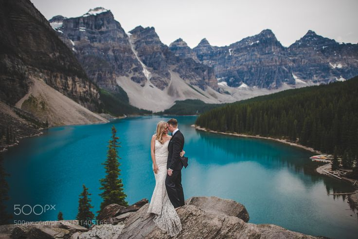 Moraine Lake Wedding by shankpony