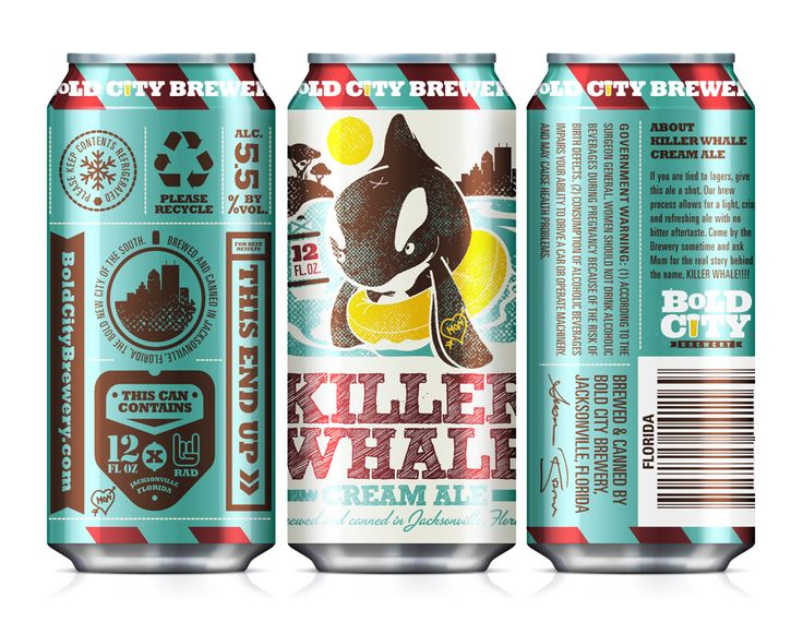 Killer Whale Can by Kendrick Kidd