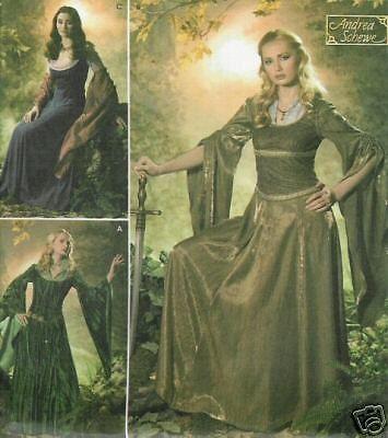 Arwen dress PATTERN Eowyn Fantasy Elf Princess Simplicity 4940 20 22 24 26 LARP #Simplicity #Dress #Papersewingpattern