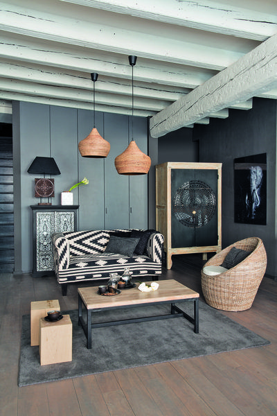 les 25 meilleures id es de la cat gorie decor ethnique sur pinterest art mural pochoir art de. Black Bedroom Furniture Sets. Home Design Ideas