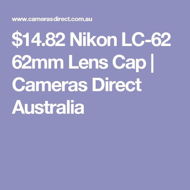 $14.82 Nikon LC-62 62mm Lens Cap | Cameras Direct Australia