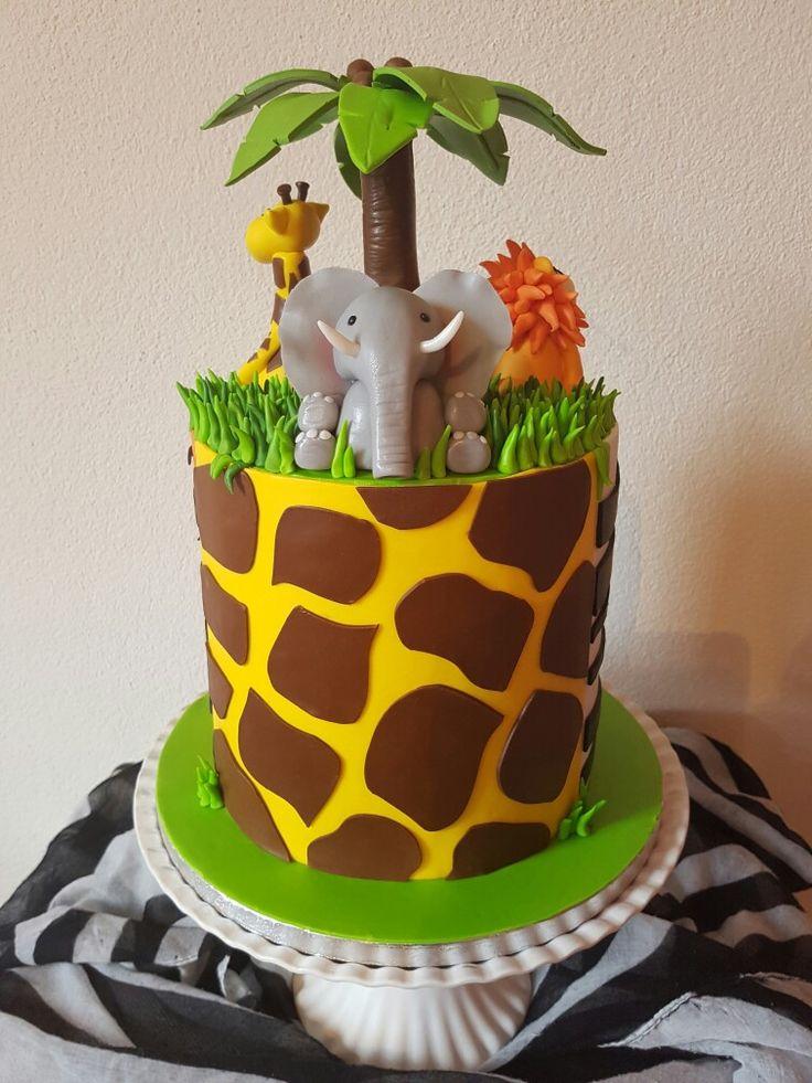 Safari Taart
