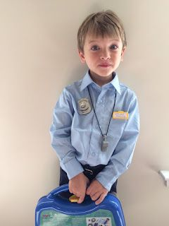 Make an easy, authentic police costume for your child with clothing from around the house and some awesome accessories! What a great…