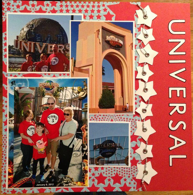 Universal Studios entrance - Scrapbook.com