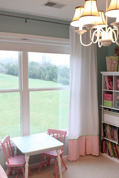 how to add length to curtains