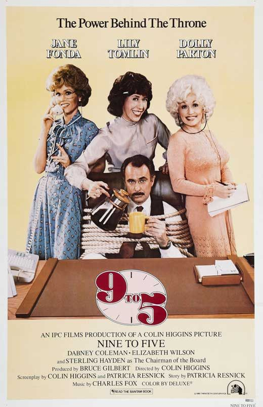 """9 to 5 was a big hit in 1980, grossing over $3.9 million in its opening weekend and is the 20th highest-grossing comedy film ever. The film is about three working women living out their fantasies of getting even with, and their successful overthrow of, the company's """"sexist, egotistical, lying, hypocritical bigot"""" boss. The film is ranked #74 on the American Film Institute's """"100 Funniest Movies"""" and is rated """"82% fresh"""" on Rotten Tomatoes."""