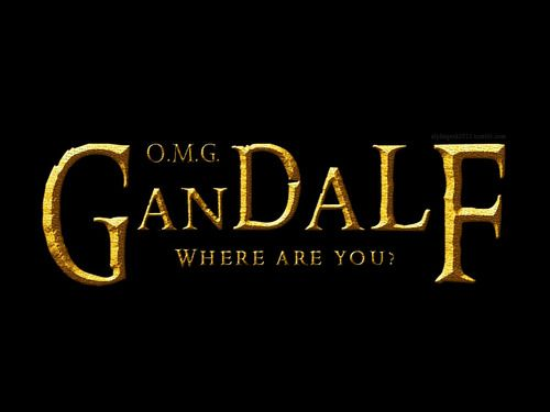 Alternate title for The Hobbit. Seriously, where is he half the time?!