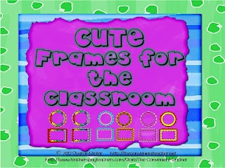 Oh yeah! Free editable frames.  I can never find round ones.  These are perfect and FREE.Editing Frames, Classroom Teaching, Classroom Decor, Schools Stuff, Convenient Teachers, Classroom Ideas, Frames Create, Classroom Organic, Clips Art