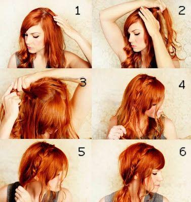 Zonna Fashion: Penteados fáceis - Passo a Passo